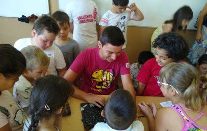 """Роботика през лятото – мисията възможна в ОУ """"Иван Вазов"""""""