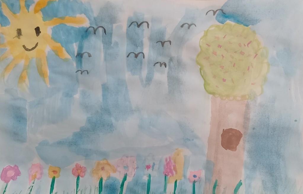 Пъстра пролетна палитра